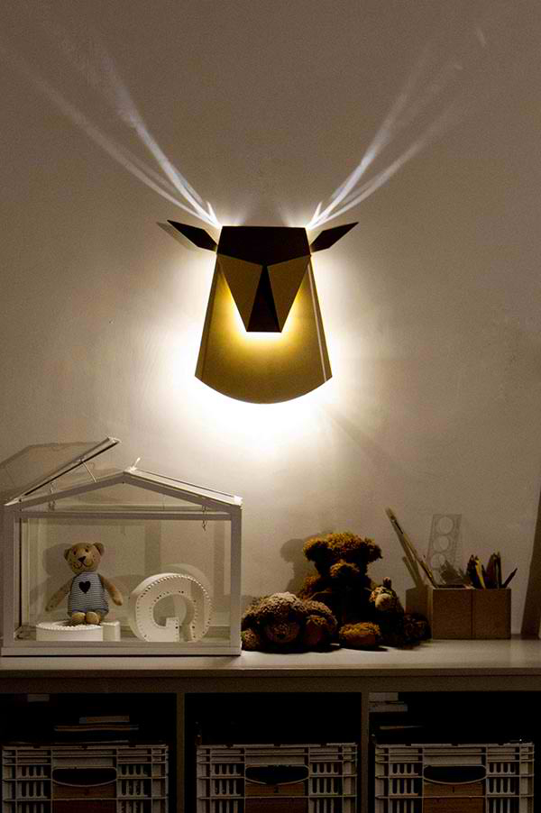 bed wall lamp design