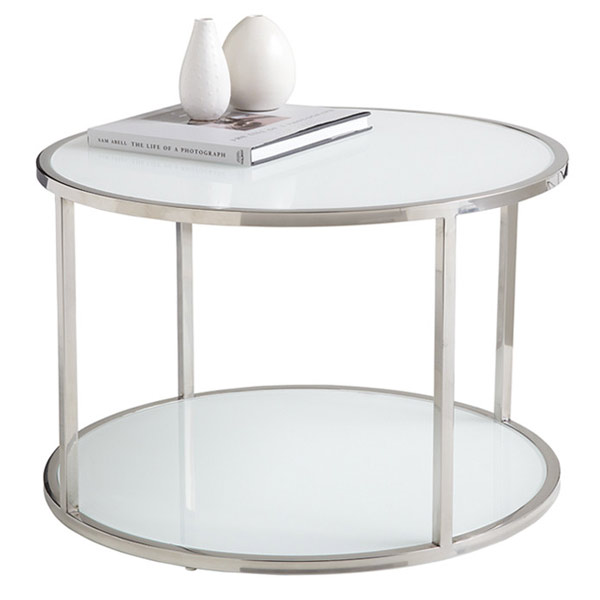 white modern glass