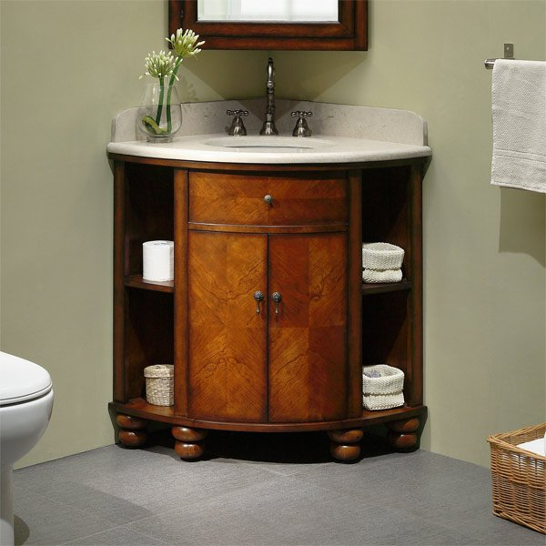 vanity set corner bathroom cabinet
