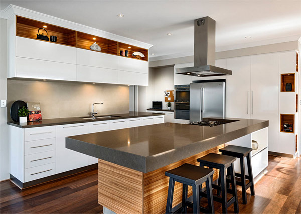 ... kitchen & Home Design: Display Serenity in Japanese Inspired House Azumi in ...
