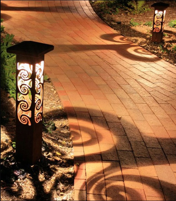 Welhome Bollard Light Garden Pedestal Led Solar Lamps: Brighten Up Your Outdoor Area With These 20 Decorative