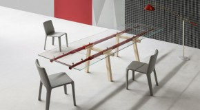 Impressive Technical System of An Extendable Tracks Table