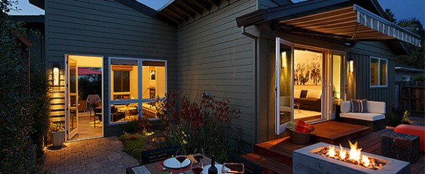 Tremendous Makeover of a Shabby Cottage in Healdsburg