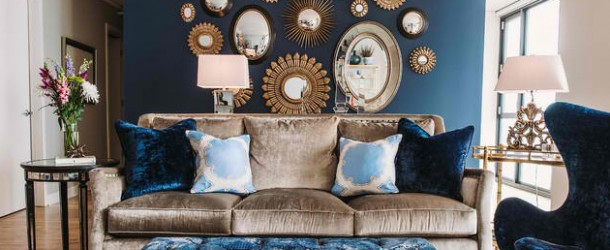 22 Living Rooms with Metal Wall Decorations