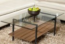 Style Your Modern Homes with Sleek Glass Coffee Table