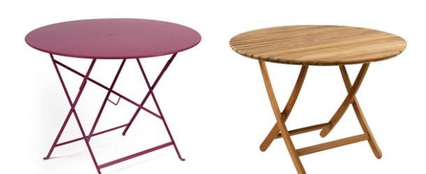 20 Awesome Circle Outdoor Folding Tables