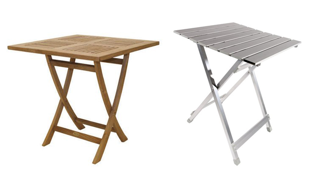 Outdoor Folding Table : 20 Square Folding Outdoor Dining Tables to Inspire You  Home Design ...