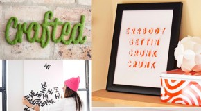 Say It with 20 Typography Wall Art Decors