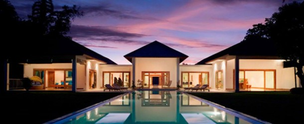 The Enchanting Views in the Villa Les Rizieres in Indonesia