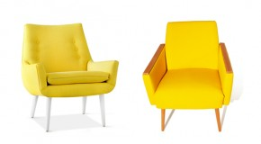 20 Fascinating Yellow Living Room Chairs