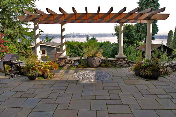 20 Lovely Ideas for Landscaping with Pavers | Home Design ...