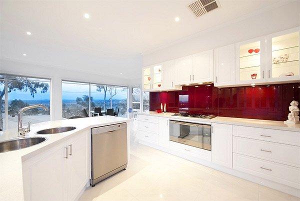 your kitchen with 20 glass back painted backsplash home design lover