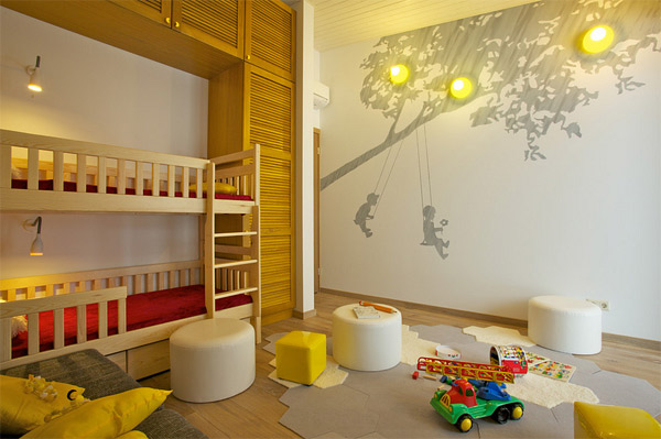 20 cute wall decals and murals for kids bedroom home