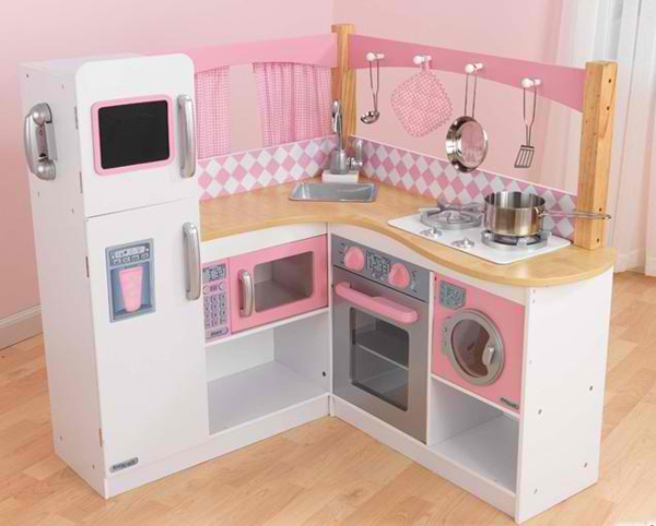20 play kitchens to make chef pretend play more fun and. Black Bedroom Furniture Sets. Home Design Ideas