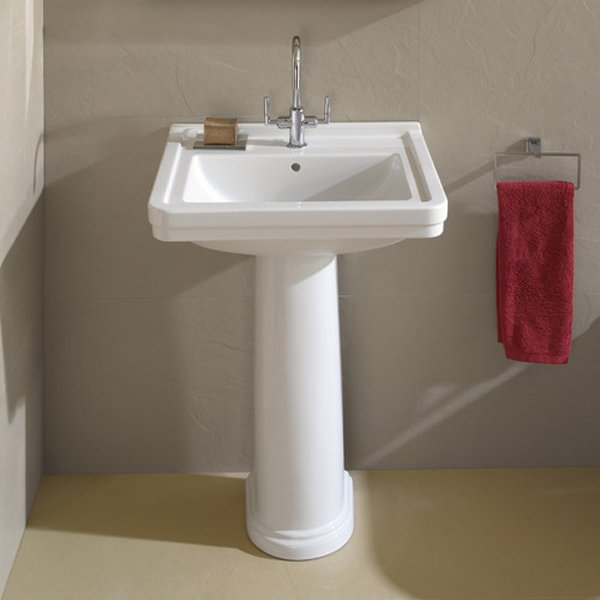 Bathroom Sink With Pedestal : 20 Fascinating Bathroom Pedestal Sinks Home Design Lover