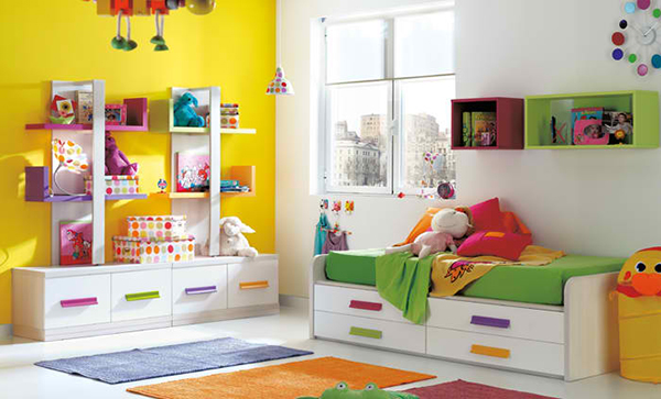 Grow with your bedrooms with the kibuc bedrooms for for Habitaciones ninos modernas