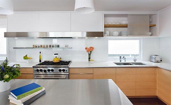 white - Intensify The Look Of Your Kitchen With 20 Glass Back Painted