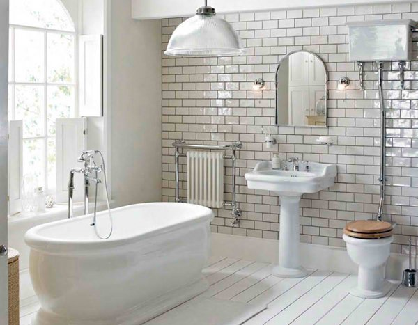20 Fascinating Bathroom Pedestal Sinks : Home Design Lover