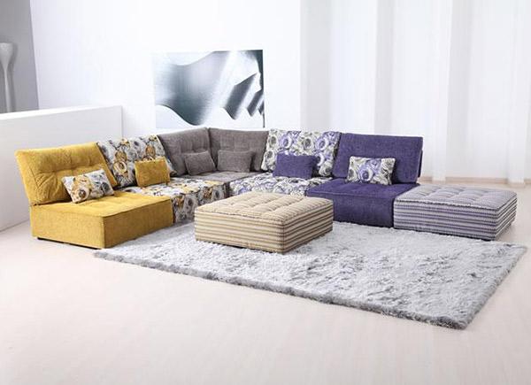 Modular Floor Pillows