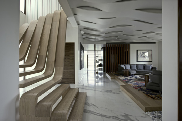 Enthralling Designs Of The Interior In The Sdm Apartment