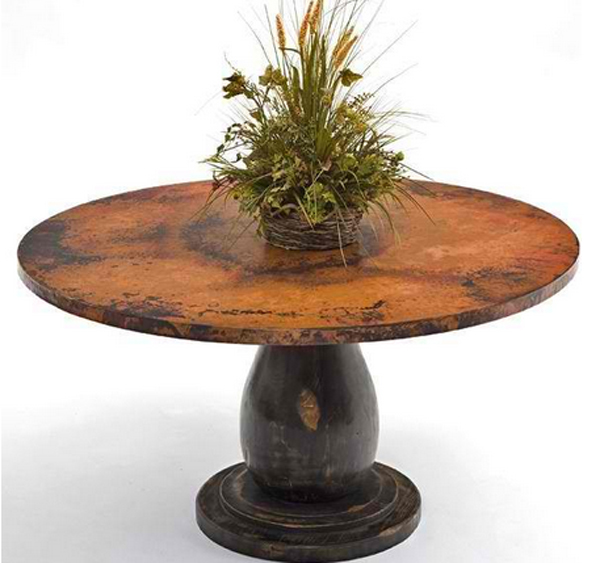 Copper Wooden Coffee Table: A Fabulous List Of 21 Round And Wooden Pedestal Coffee