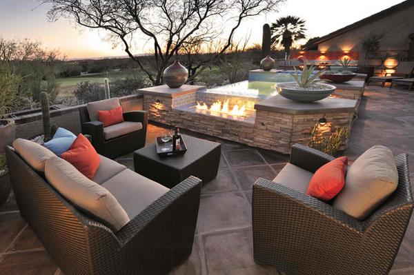 Desert. 20 Comfortable Outdoor Garden Furniture Ideas in Rattan   Home