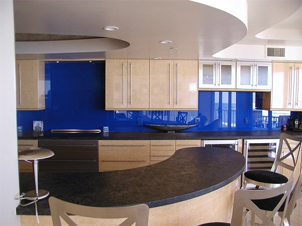 intensify the look of your kitchen with 20 glass back back painted glass backsplash ikea hackers ikea hackers