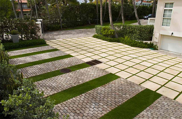 20 Lovely Ideas For Landscaping With Pavers Home Design Lover