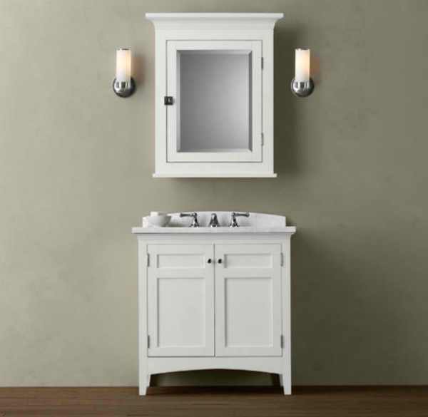 20 worth it white single bathroom vanity for your home for Single vanity bathroom ideas