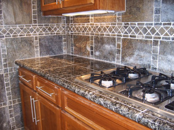 Granite Tile Kitchen Countertops 20 pictures of simple tile kitchen countertops | home design lover