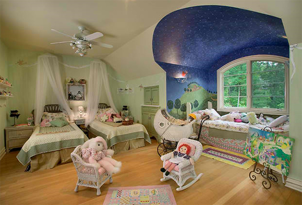 20 Whimsical Ceiling Ideas Of Nurseries And Toddler's