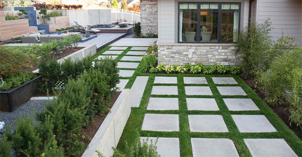20 Lovely Ideas For Landscaping With Pavers List Deluxe
