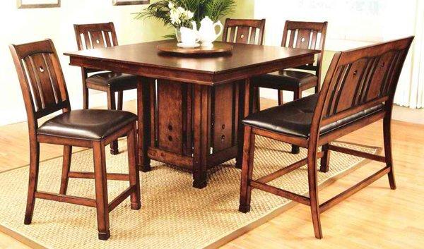 Surprising Square Wooden Pedestal Table Bases  Home Design Lover