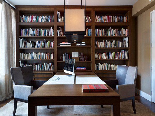 20 functional and cool designs of study rooms home Study room ideas