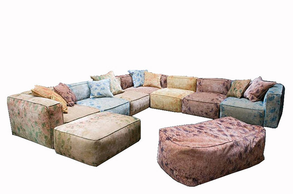 Cuddle into this 20 comfortable floor level sofas for Floor level sofa