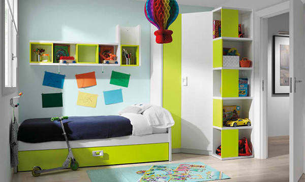 Grow with your bedrooms with the kibuc bedrooms for for Alcobas juveniles modernas