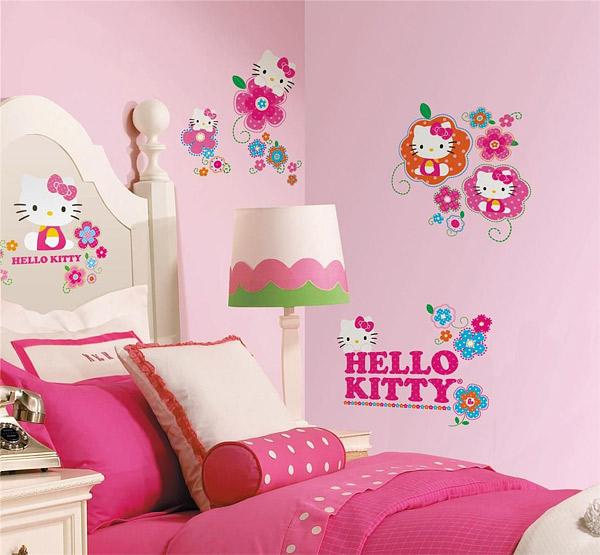 Trang trí phòng ngủ của con bạn bằng decl hay giấy dán tường đẹp