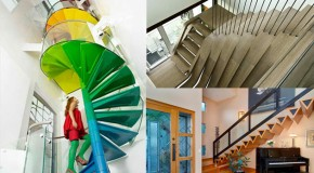 20 Amazingly Creative Staircase Designs to Make Climbing Less Boring