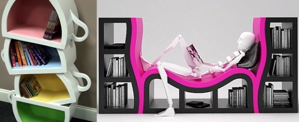 20 Creative and Bizarre Designs of Bookshelves