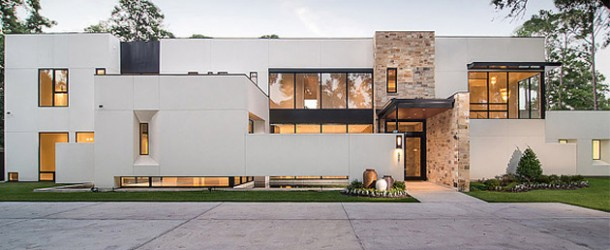 Bunker Hill Residence: Geometrically Designed Contemporary House