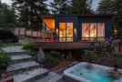 Before and After Photos of Cazadero Weekend Retreat House in California