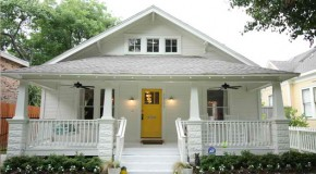 Before and After: A Dilapidated Shocker Craftsman Home Rehabilitation in Houston