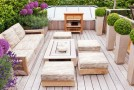20 Wonderful Outdoor Garden Furniture Ideas in Wood