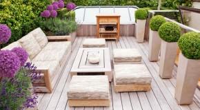 20 Wonderful Outdoor Garden Furniture Ideas in Wood