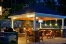 20 Amazingly Gorgeous Gazebo Lighting