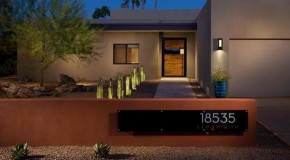 20 Beautiful House Number Designs of Modern and Contemporary Homes