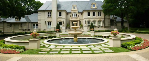 20 Lovely Ideas for Landscaping with Pavers