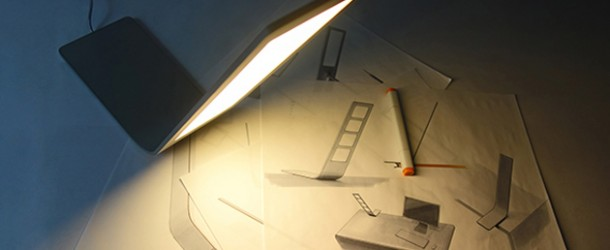 Jim Oled Desk Lamp: An Ultra-Thin Simplistic Lighting