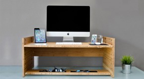 LIFT: A Sit-to-Stand Desk Gadget You Would Want to Own
