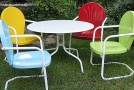 20 Fun and Functional Metal Outdoor Furniture